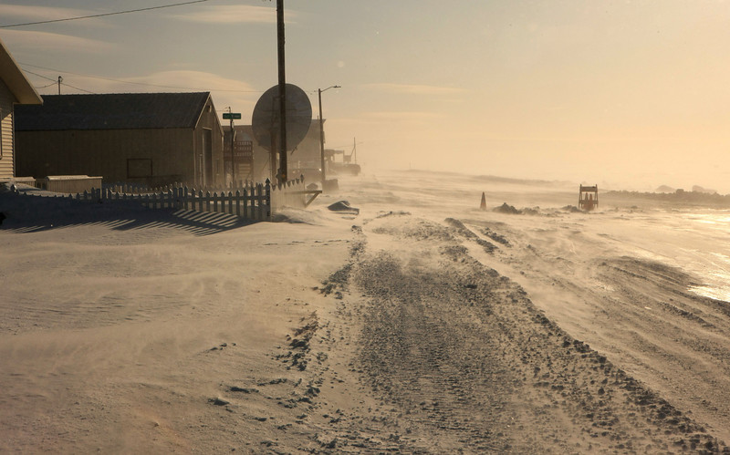 March 18, 2014.  Springtime in Nome