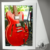 Red Electric Guitar MUS115