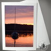 Lone Sunset Sailboat SCE112