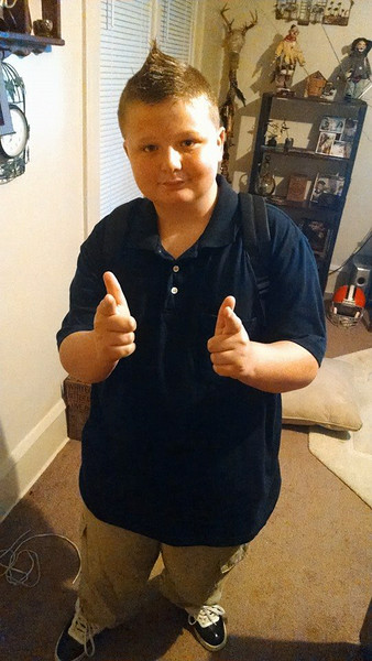 Watch out, ladies, Gage Lago is headed to seventh grade at Westwood Middle School.