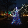 A reader shared this photo of lights in downtown Elyria. READER PHOTO