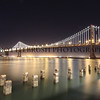 The new Oakland Bay Bridge.