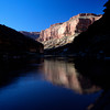 Grand Canyon, reflections in the Colorado River