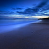 Seacliff Beach at Blue Hour Before Sunrise