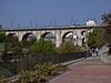 Mel, Martha, Peter<br /> Rio Amadorio Bridge, Valencia Ave.<br /> Joiosa, Spain
