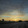 Sunrise on I-4