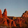 A sunset view of the red rocks of Sedona last week. What a perfect day!