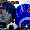 Humpy Dumpty bumping into the Pepsi football balloon.