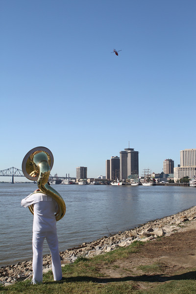 Navy Fleet Week in New Orleans 2012 Photography By Lloyd R. Kenney III ©2012