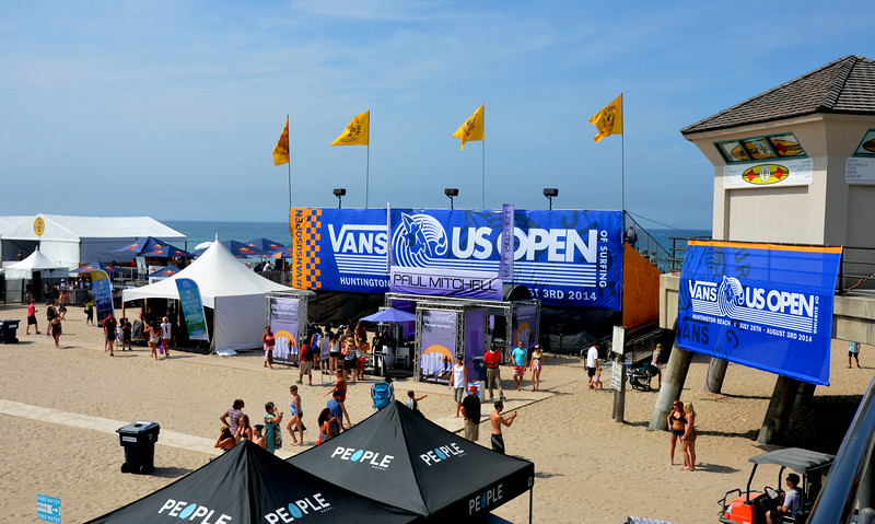 Van's is a Major Sponsor of the US Open in Huntington Beach California