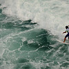 Surfing at the US Open in Huntington Beach