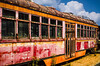 """Rusting Trolley Car"""
