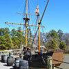 Replica of Discovery Ship that Came to Jamestown from England in 1607