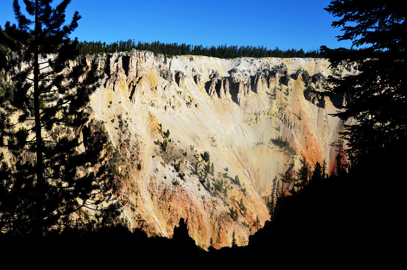 Grand Canyon of Yellowstone National Park in Wyoming 2