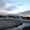Morning at Yellowstone National Park in Wyoming 2