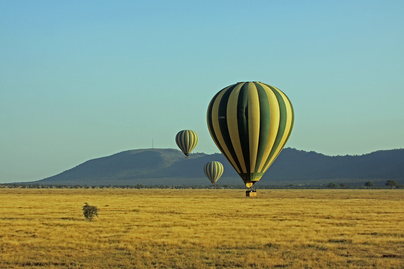 Serengeti - Balloon Flight