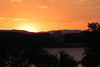 25/01/2014 - Sunset Over Lake Burley Griffin