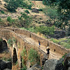 Portuguese bridge near Blue Nile Falls, Northern Ethiopia