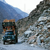 Loaded truck, Karakoram Highway, Northern Pakistan