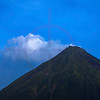 Arenal volcano as seen from La Fortuna, Costa Rica