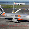 Jetstar is becoming more and more prominent at Auckland Airport. They even have long haul services now.