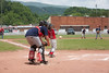 A Little League game is played in Saltville where ball fields were built by the company years ago.