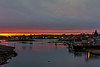 Portsmouth Harbor at Sunrise