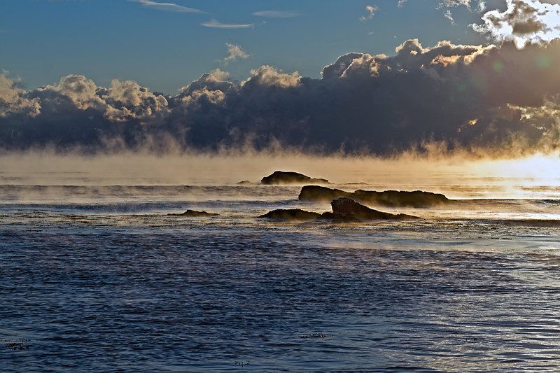 Sea Smoke from Odiorne Point State Park
