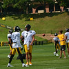 Roethlisberger (8) and Wide Receiver Justin Brown