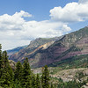 Looking back towards Ouray from Sutton Mine Trail