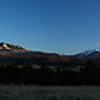 Panorama of Sunset over the Cimmarons and San Juans