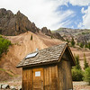 Scenic Outhouse - Eureka Colorado