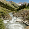Roiling creek from Animas Forks