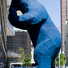 Blue Bear  As seen at the Denver Convention Center.