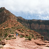 South Kaibab trail from Cedar Ridge