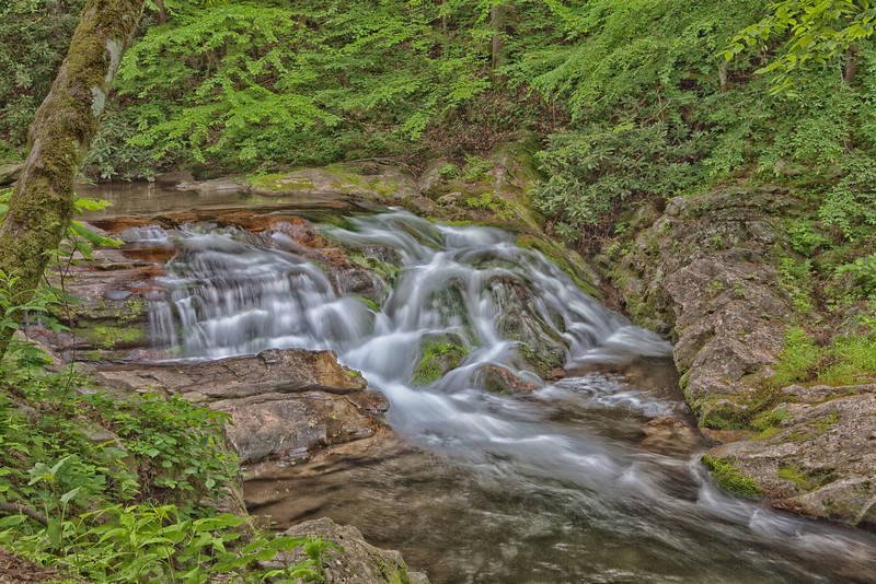 Waterfall on the Middle Prong Little River 2