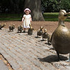 Make Way for Ducklings  Location: Boston Commons  These statues are inspired by the book Make Way for Ducklings.  Children are usually found around these statues. They begin with sitting on the duck at the end and proceeding to each one until they get to momma.