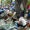 报国寺 vendors playing chinese checkers