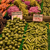 This was taken at the Public Market in Seattle.  Note the vendor's label above the brussel sprouts.
