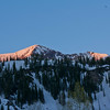 Sunrise over Snowbird