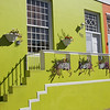 Colourful houses in Bo-Kaap, Cape Town, South Africa