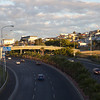 Pedestrian bridge over Eastern Boulevard, Cape Town, South Africa