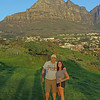 Col and I in Camps Bay South Africa