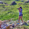 She really got into the photography at the Cape of Good Hope