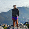 My beautiful niece on top of Table Mountain