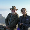 Col, with our guide Peter, on top of Table Mountain