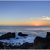 Sunset  at 17-mile drive<br /> I rarely make HDRs, but this is one of them.<br /> I am not even sure if I like it myself.