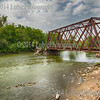 Old train, broken bridge. Carpentersville, IL