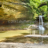 Wishing Well and Cascade Falls. Matthiesen State Park, Illinois