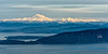 Mount Baker, rising above Bellingham, from Mount Constitution, Orcas Island